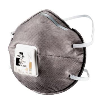 3M 9913v帶閥活性碳防塵口罩