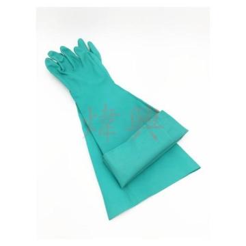 G80丁晴抗化學溶劑長手套