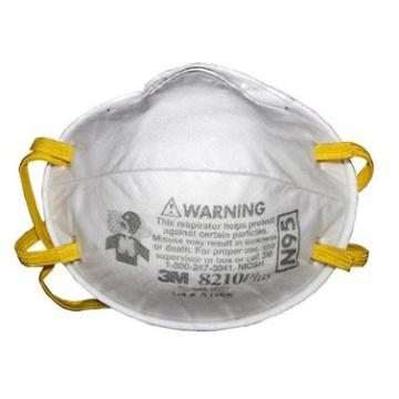 3M 8210 拋棄式防塵口罩