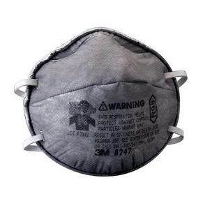 3M 8247活性碳防有機氣體口罩