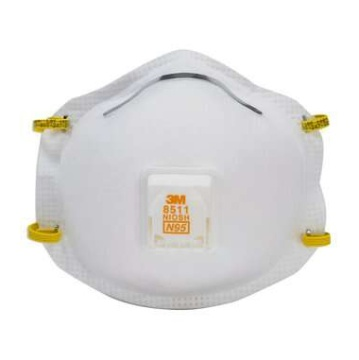 3M 8511 帶閥防塵口罩