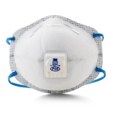3M 8576帶閥活性碳防酸性氣體口罩