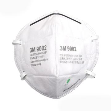 3M 9002摺疊式防塵口罩