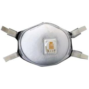 3M 8214帶閥活性碳防酸性氣體/電焊口罩