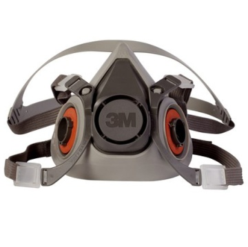 3M 6200半面式雙罐防毒面具