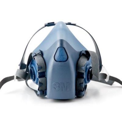 3M 7502半面式雙罐防毒面具