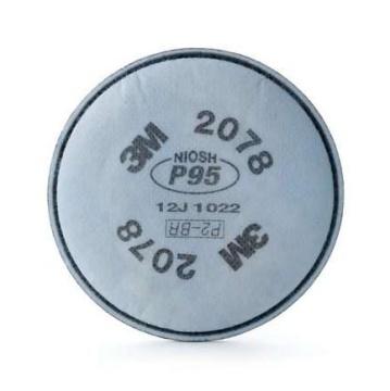 3M 2078酸性/有機氣體粉塵顆粒過濾棉