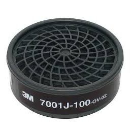 3M 7001J-100有機氣體濾毒罐