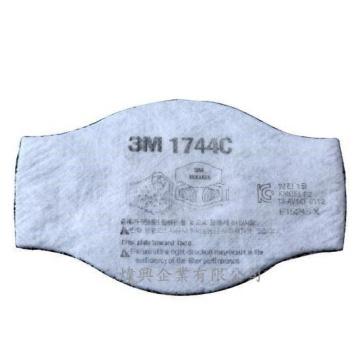 3M 1744C含活性炭濾棉片