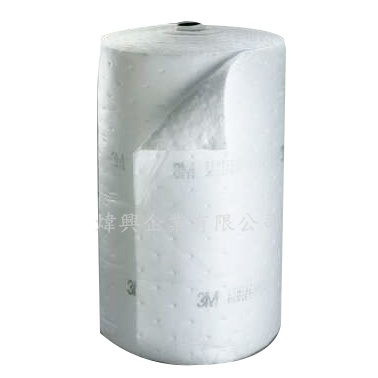 3M HP-500(抗靜電)高效能吸油棉-捲狀