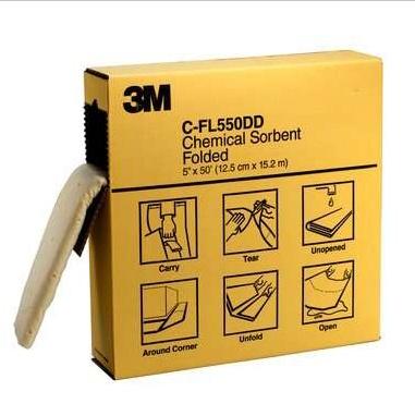 3M C-FL550DD 高效能吸液棉--摺疊狀